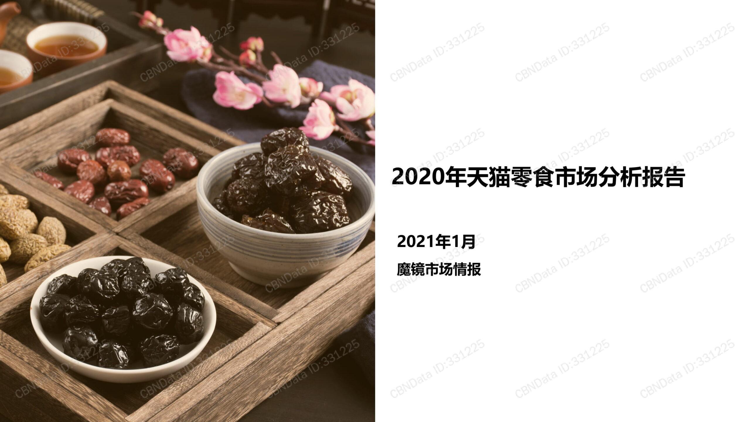 中国のお菓子市場分析レポート(前編)